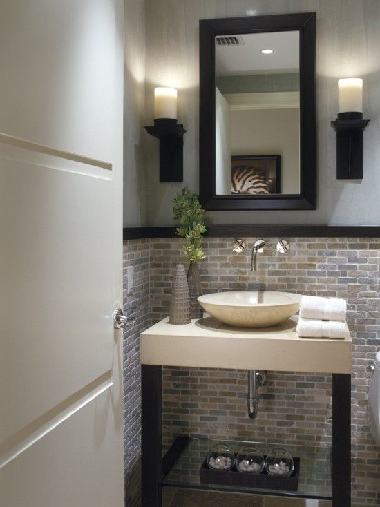 accent chairs under 150 2 folding chair storage ideas this small bathroom coveres the bottom half of wall in a natural mosaic tile. looks great ...