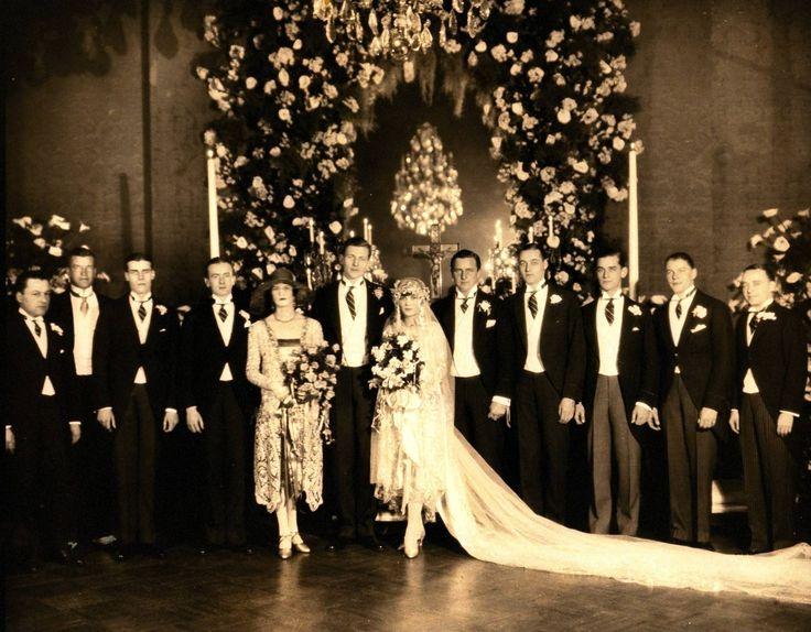A Look Back At 120 Years Of Stunning Vanderbilt Weddings