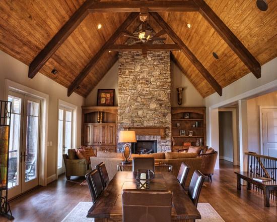 Wood Ceiling Sand Paint Design, Pictures, Remodel, Decor