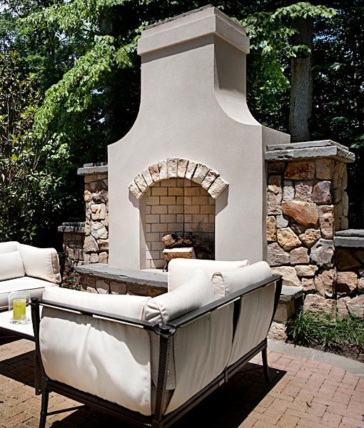 Image Result For Spanish Style Large White Stucco Fireplace The 25+ Best Ideas About Stucco Fireplace On Pinterest