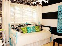 Bedroom, : Killer Black And Blue Teenage Girl Bedroom ...