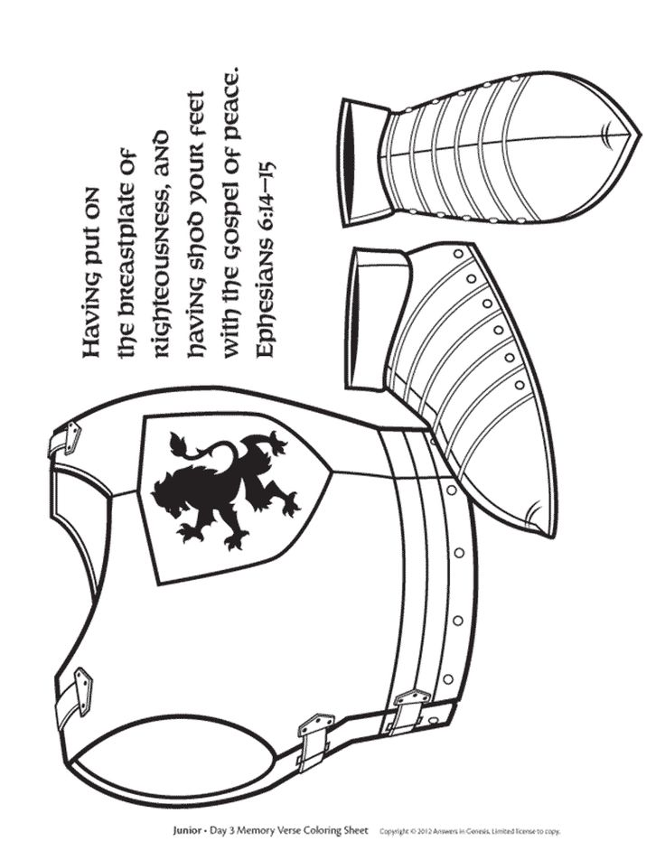 760 best images about armor of God on Pinterest