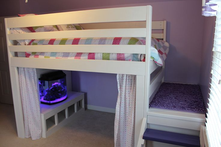 Loft Bed More Ideas Add Additional 2x4 S To Front Amp Rear