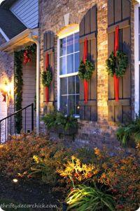 Shutters, Wreaths and The shutter on Pinterest