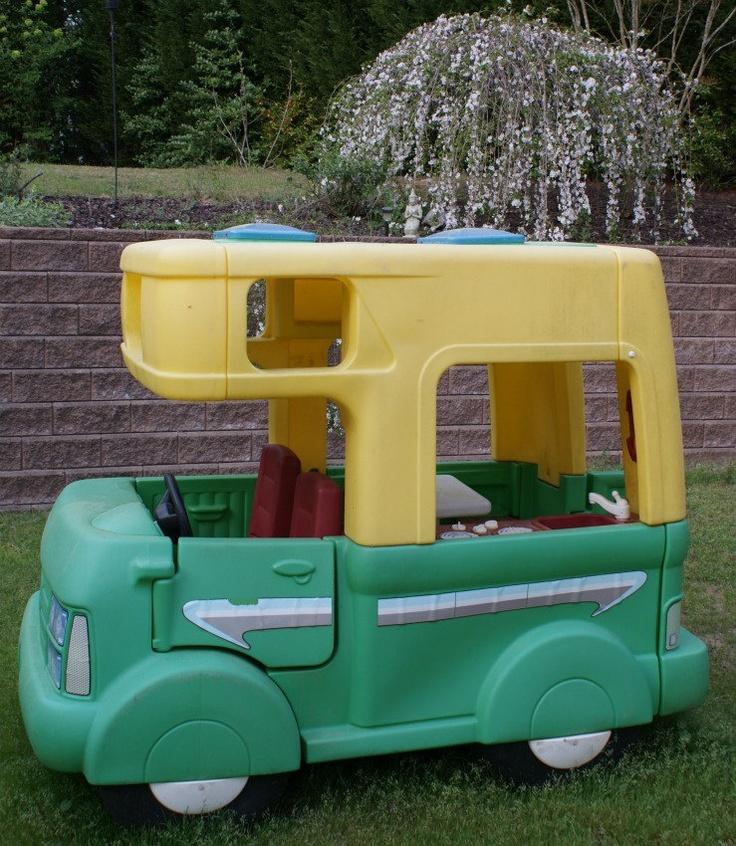 Vintage Little Tikes Step 2 Five Foot RV Outdoor Camper