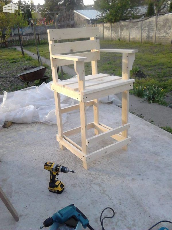 kitchen island chairs with backs wholesale cabinets san diego best 25+ pallet bar stools ideas on pinterest | ...