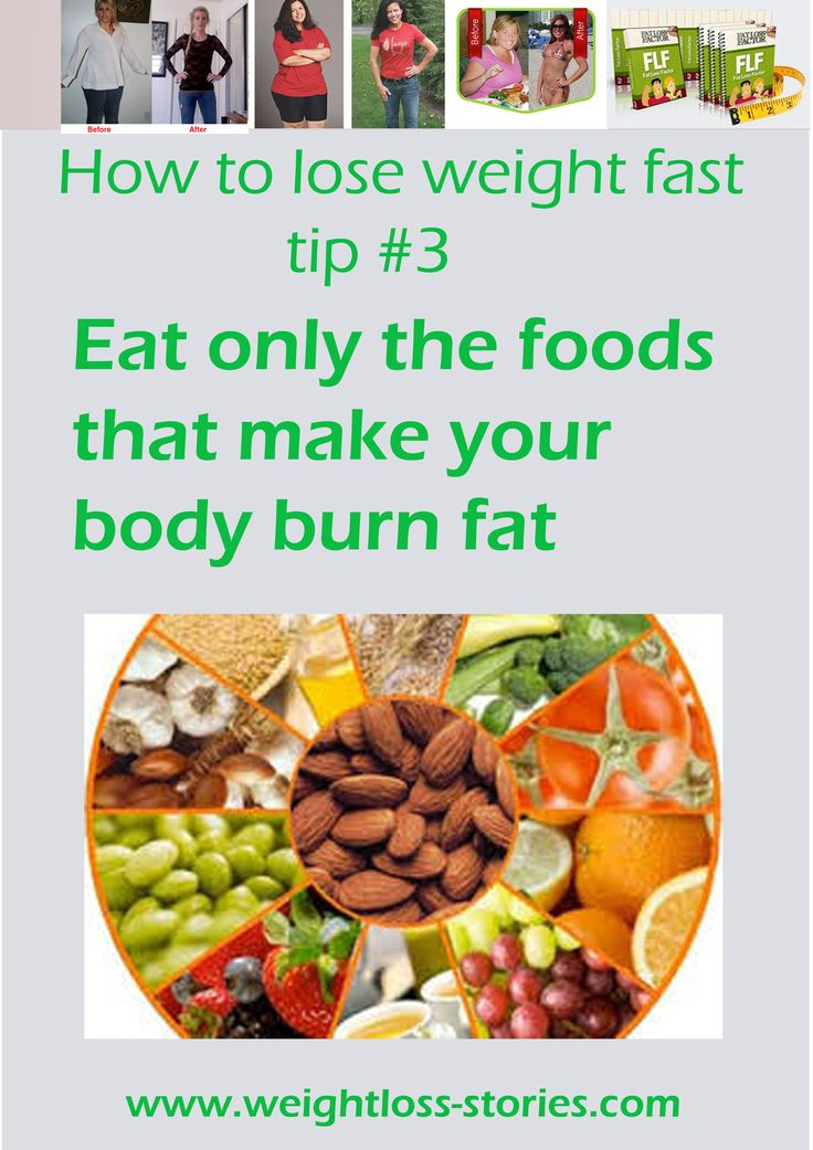 to lose weight fast for women tips 3 eat only the foods that make your