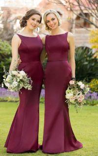 Best 25+ Maroon bridesmaid dresses ideas on Pinterest