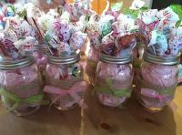 Mason Jars - Baby Shower - Center pieces - Baby Girls ...