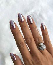 ideas metallic nails