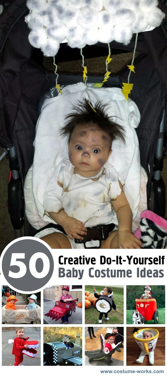 50 Creative DIY Baby Costume Ideas Creative Diy baby