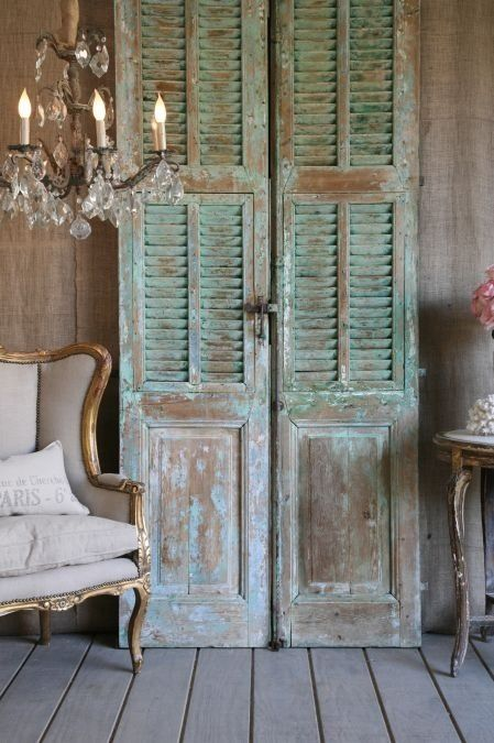 25 best ideas about Old shutters decor on Pinterest