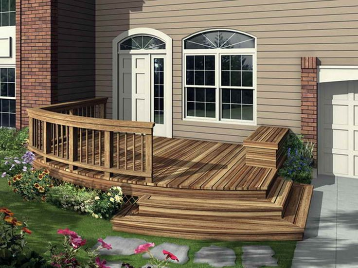 25 Best Ideas About House Deck On Pinterest Outdoor Decking