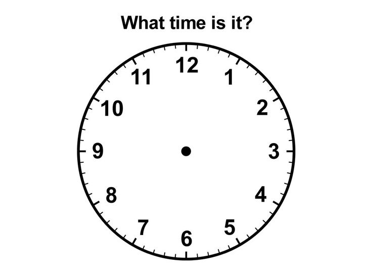 Teach how to tell time. Learn about midnight and noon. How