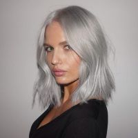 17 Best images about Trend; Grey Hair on Pinterest | Long ...