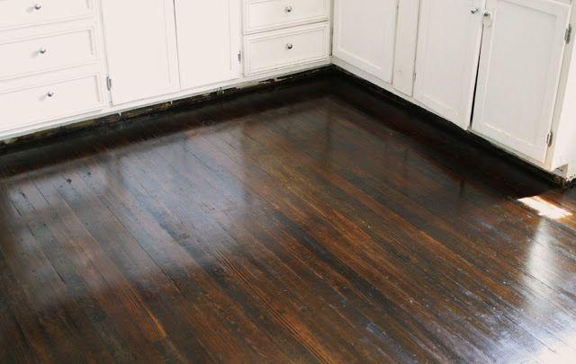 Dark Walnut Stain On Pine Floors Minwax dark walnut stain  living room  Pinterest  Stains