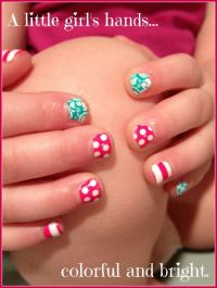 Little girls can have cute nails without having to wait ...