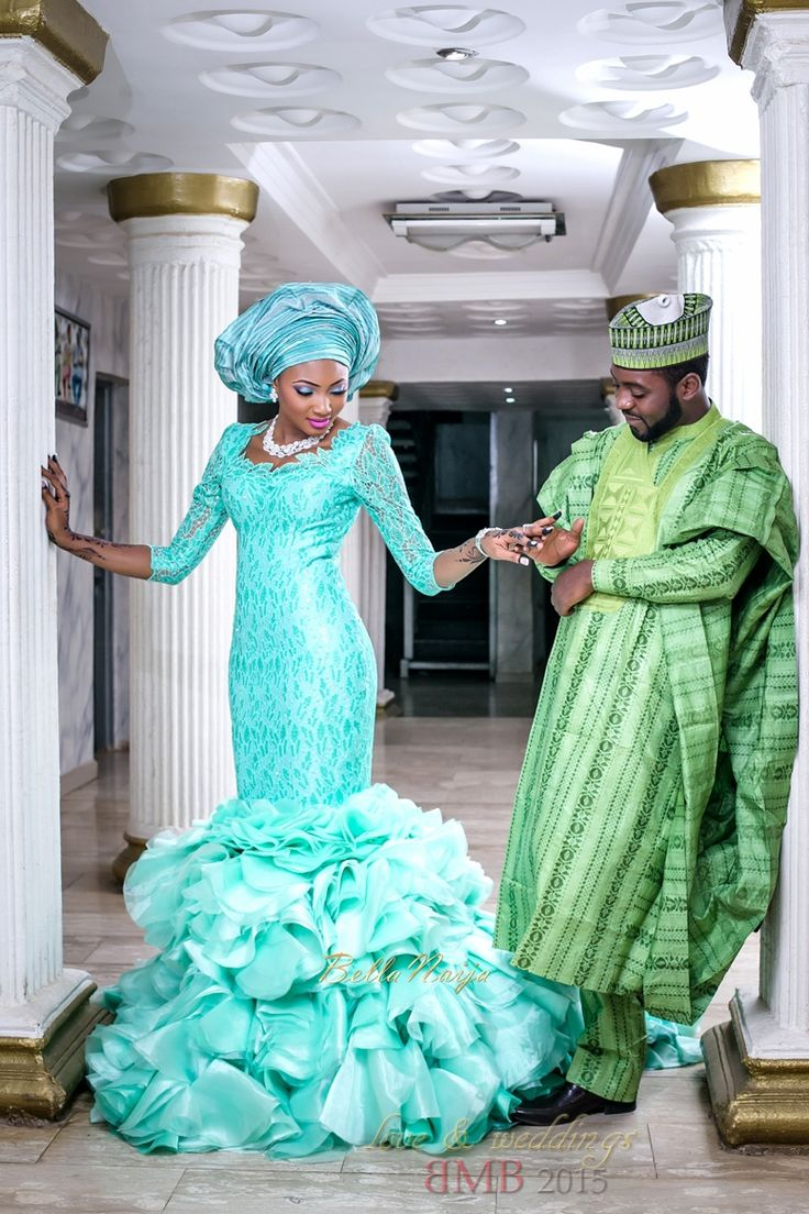 1000 ideas about Nigerian Wedding Dress on Pinterest  African wedding dress Nigerian lace
