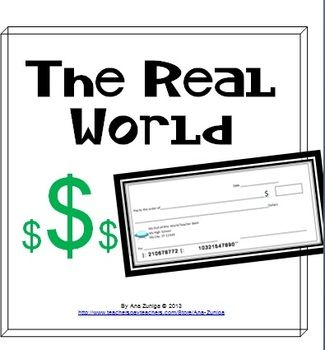 The Real World Checkbook Project: Consumer Math, Percents