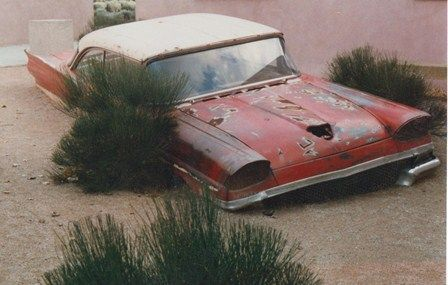 50s Classic Cars Wallpaper 1958 Ford Quite Literally Sinking Into Nature 4gotten