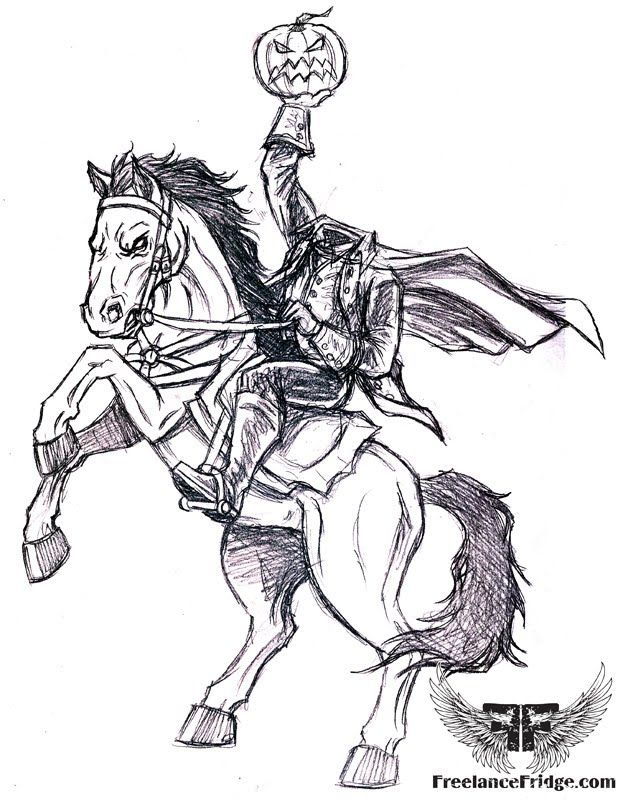 Legend Of Sleepy Hollow Coloring Pages