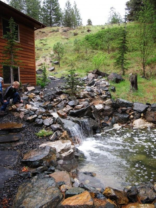 creek landscaping ideas