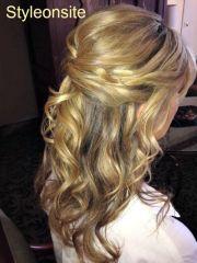 mothers bridal hair
