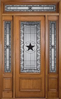 Texas Star Door~~ This will be the front door to my house ...