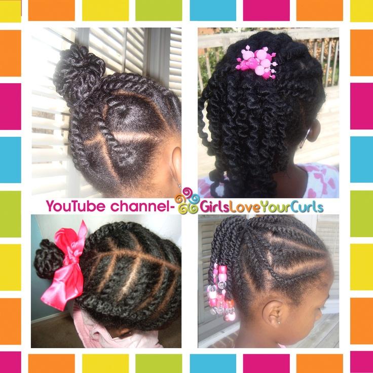 17 Best Images About Natural Kids Ghana Braids On Pinterest