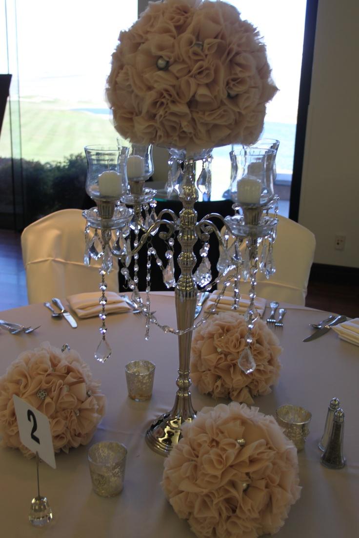 Flower Chandelier Centerpiece  2013 Bridal Extravaganza