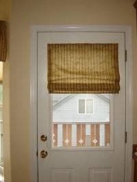 magnetic roman shade for metal door | Living Room ...