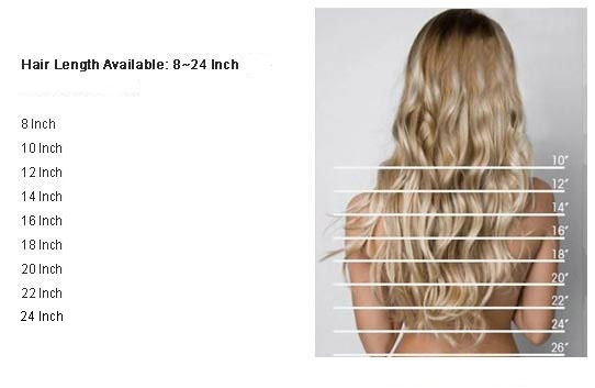 Hair Extensions Length Guide Types Of Hair Extensions