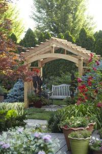 25+ best Arbor ideas on Pinterest | Garden arbor, Arbors ...