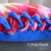 17 Best images about Fleece tie blankets on Pinterest