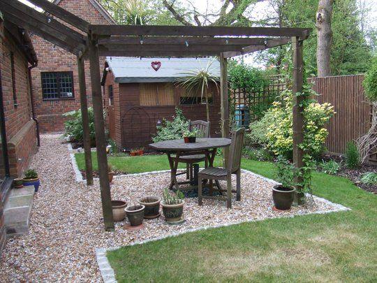 Beautiful Back Garden Patio Ideas Contemporary Home Decorating