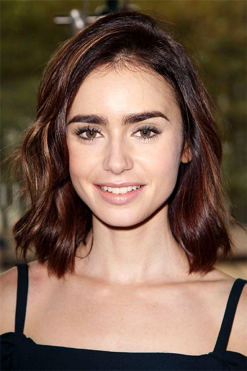 25 Best Ideas About Lily Collins Haircut On Pinterest Lily