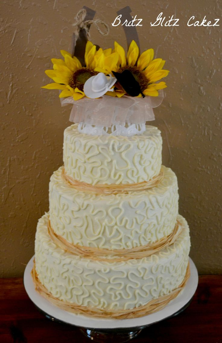 17 Best images about Country style wedding cakes on Pinterest  Cake central Cake ideas and