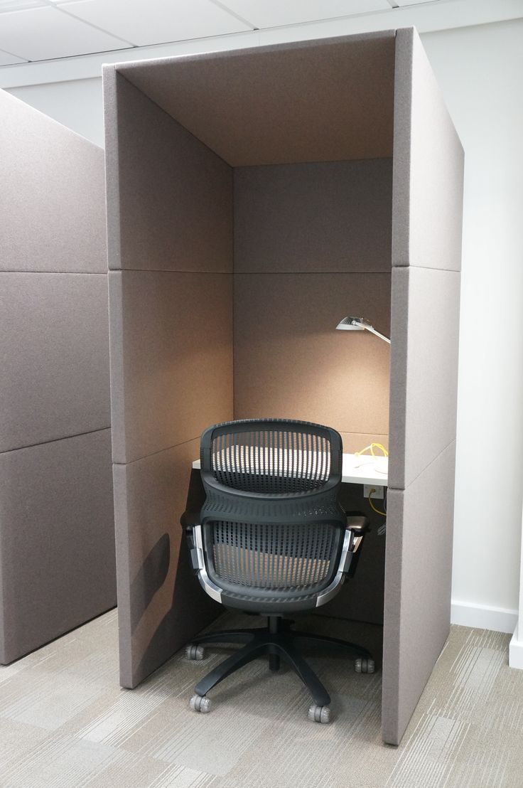 It seems the privacy pod is the new cube  Office Privacy