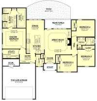 1000+ ideas about Ranch Floor Plans on Pinterest | House ...