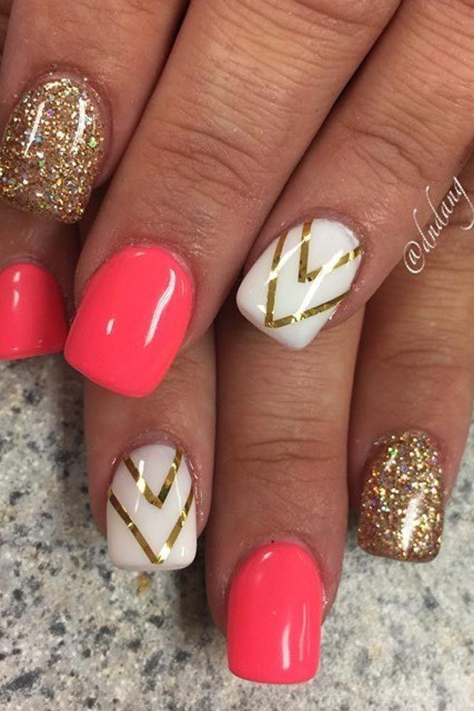 25 best Gel nail designs ideas on Pinterest  Gel nail art Gel nail and Gel nails