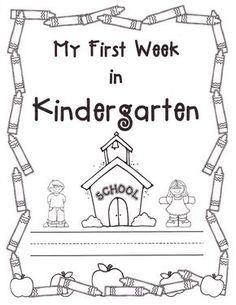 25+ best ideas about Kindergarten first week on Pinterest