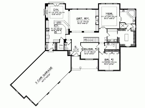 25+ best ideas about Square house plans on Pinterest