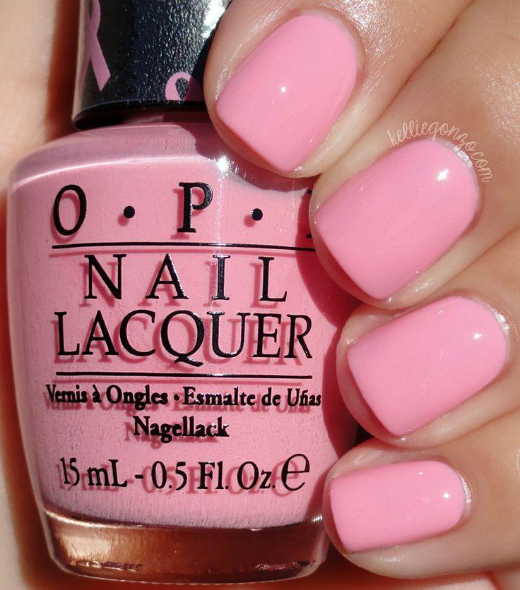 Barbie Pink Opi Nail Polish