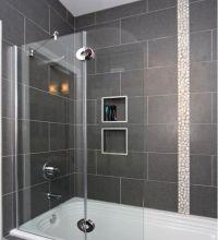 12 x 24 tile on bathtub shower surround | House ideas ...