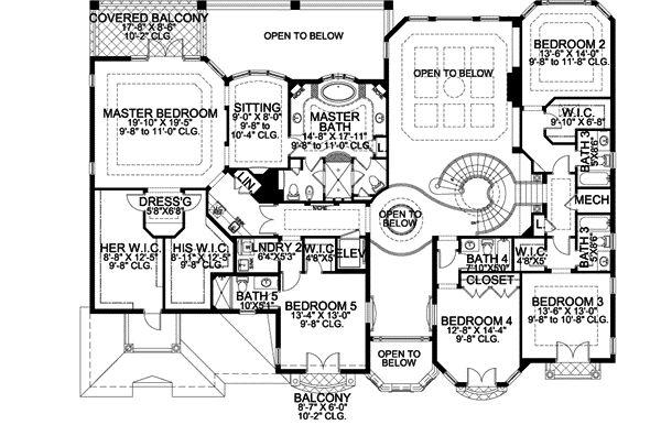 1000+ images about Home Design Blueprints on Pinterest