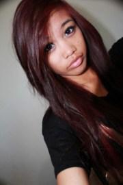burgundy hair &