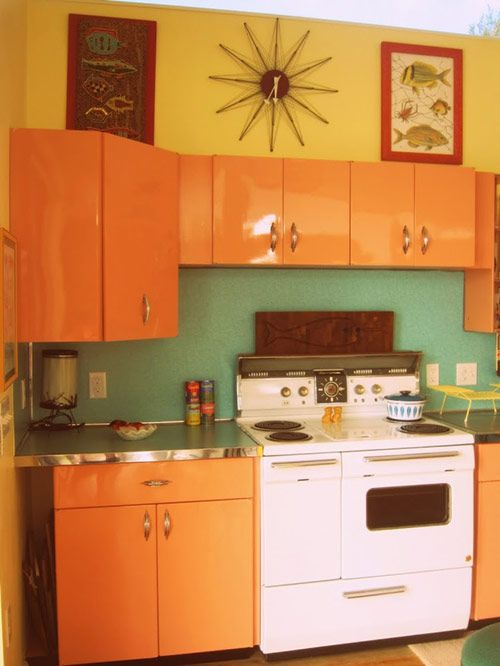 Mid Century Modern Kitchen Kitchens