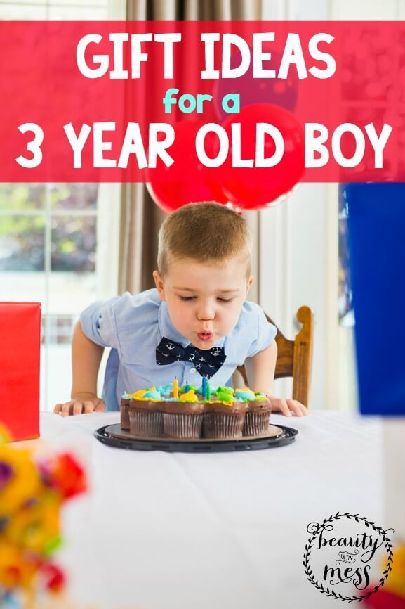 Gift Ideas For A 3 Year Old Boy  Old Boys, 3 Year Olds And Love