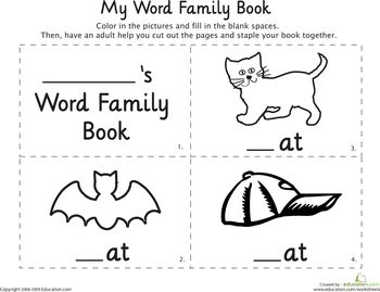 39 best images about CVC, Rhyming & Word Families on