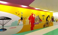 1000+ ideas about Graphic Wall on Pinterest | Wall murals ...